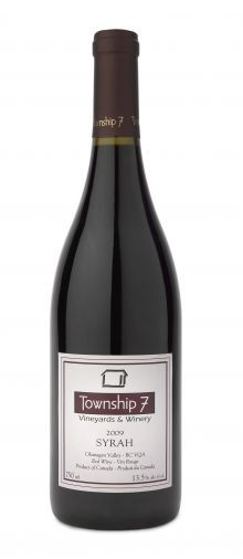 Township 7 Syrah - on a recent visit to the Okanagan Valley, BC, enjoyed a bottle 2 nights in a row after fabulous days of tastings.