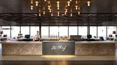 LeChef Genève - Generalunternehmung by retailpartners ag. Bar Design, Le Chef, Restaurant Design, Architecture, Arquitetura, Architecture Illustrations, Architecture Design, Architects