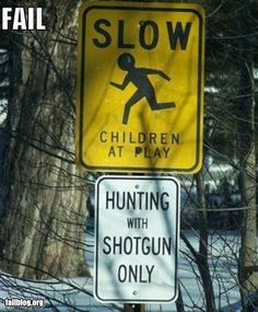 You can't be serious... is there actually a sign like that? o.O