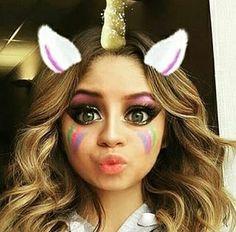Karol Sevilla como un unicornio Disney Channel, Son Luna, Seville, Christmas Colors, Girl Power, Favorite Tv Shows, Snapchat, Halloween Face Makeup, Instagram