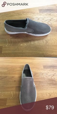 Michael Kors slip ons Suede and patent material fashion sneakers Michael Kors Shoes Flats & Loafers