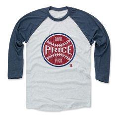 David Price Ball R Boston Officially Licensed MLBPA Baseball T-Shirt Unisex S-3XL