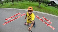 TeamGee Electric Skateboard River Side Scenic Ride opposite to smokey ch...  You can Pre Order your TeamGee Electric Skateboard here http://bit.ly/2Hlelkf  Check out the complete review of TeamGee Electric Skateboard here. http://bit.ly/2MtInWM