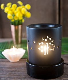 LET THERE BE LIGHT AND FRAGRANCE A great example of form and function, the Good Earth electric fumer has become a design icon, gracing the most stylish public and private spaces. A simple and decorative way to fragrance the home, subliminally uplifting the mood and well being of all who visit. Pair with your favourite essential oil as the perfect #gift‬ to set the mood! Shop the fumer on our #WebBoutique . #GiftIdeas #FragrantWorld