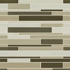 Artistic Tile | Opera Glass Collection; Tempest Gloss and Satin Mix Stilato Linear #tile #glass #mosaic