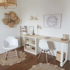 Discover recipes, home ideas, style inspiration and other ideas to try. Decor, Room Makeover, Home Office Desks, Room Design, Interior, Home, Room Inspiration, Home Office Design, Bedroom Decor