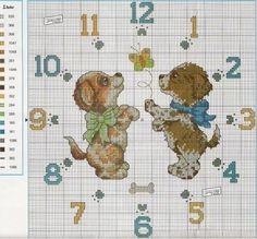 Relojes en punto de cruz (pág. 3) | Aprender manualidades es facilisimo.com