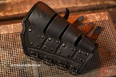 Items similar to Techno-industrial men's leather bracer 'Techno-polizei' on Etsy Leather Bracers, Leather Pouch, Leather Cuffs, Leather Men, Leather Jackets, Pink Leather, Leather Gauntlet, Steampunk Accessories, Men's Accessories