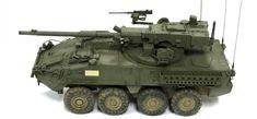 Scalehobbyist.com: Stryker M1128 MGS by AFV Club