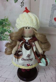Купить Вязаная кукла - Зефирка - крючком, вязаная игрушка, подарок, подарок на любой случай