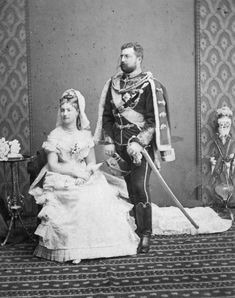 1875 Prinz Philipp of Saxe-Coburg Gotha and Princess Louise of Belgium From Huffington Post