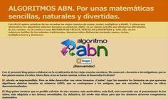 La Metodología en la Educación.: ALGORÍTMOS BASADOS EN NÚMEROS (ABN).