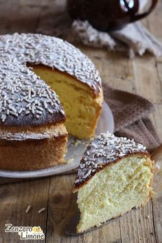 VENEZIANA Ricetta con foto passo passo. Dessert Cake Recipes, Gourmet Desserts, Great Desserts, Delicious Desserts, Savarin, Pastry Art, Chocolate Pies, Just Cakes, Baking And Pastry