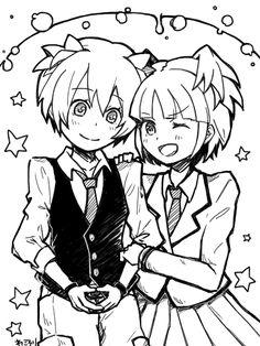 Nagisa And Kayano by WaCorori on DeviantArt