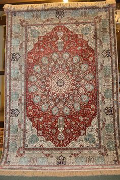 FREE SHIPPING  Top Quality 100 Silk Tabriz by Caucasiancarpet, $2390.00