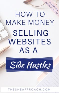 If you don't know how to make money as a blogger, in this post you will find was trough you can earn money online by selling websites! I will show you how to make money online selling websites as a side hustles & how you can sell your blog for profit! #onlinesidehustle #makemoneyonline #sellingwebsites Online Income, Earn Money Online, Make Money Blogging, Quick Money, Extra Money, How To Make Money, Financial Tips, Blogging For Beginners, Blog Tips
