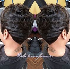 Laid! @datranzformer - http://community.blackhairinformation.com/hairstyle-gallery/short-haircuts/laid-datranzformer/