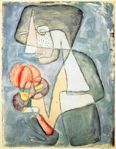 Paul Klee - Woman with Tomato 1930