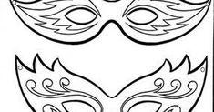 do druku, karnawałowe maski do druku, papierowe, Plastyka i Technika, szablony Tribal Tattoos, Calligraphy, Diy, Lettering, Bricolage, Do It Yourself, Calligraphy Art, Homemade, Hand Drawn Typography