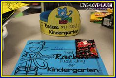 FREE First day of school certificates and hats #iteachk #petethecat