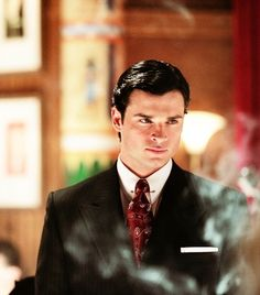 Only reason I watched Smallville!!Tom Welling looking mighty dapper.