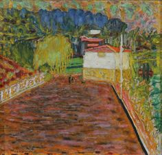 Pierre Bonnard (French, 1867-1947), The Rose Road, 1934