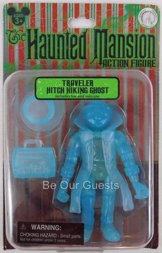 New Disney Parks Haunted Mansion Hitch Hiking Ghost Action figure Traveler