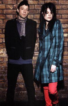 Alison Mosshart and Jamie Hince (The Kills)