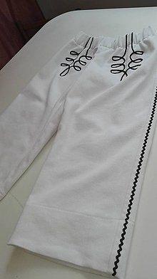 Detské oblečenie - Chlapčenské krojové nohavice - 8633716_