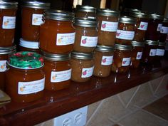I love homemade jam../I make jam all year long.  As well as the 'usual' flavors, I make some special flavors:  Apricot Amaretto, Strawberry Daiquiri, Pina Colada,  Apple Jack Jelly, and many more.