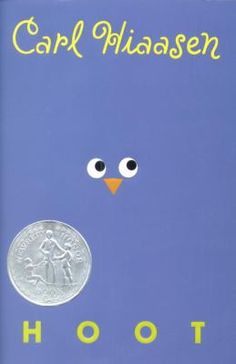 Hoot by Carl Hiaasen (Grades 6 & up). Roy, who is new to his small Florida community, becomes involved in another boy's attempt to save a colony of burrowing owls from a proposed construction site. Movie made in 2006.