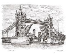 Stephen Wiltshire - Tower Bridge