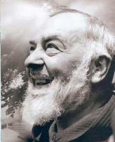 Padre Pio pray for us! I love You Padre Pio'' Kind Saint.
