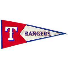 Texas Rangers Classics Pennant