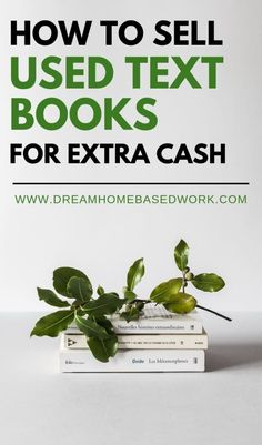 Are you a college student looking to sell used textbooks online or offline? These 12 book-selling sites allow you to sell your old textbooks for fast cash. College Textbooks Online, Used Textbooks, Earn Money From Home, Earn Money Online, Way To Make Money, Home Based Work, Work From Home Tips, Quick Cash, Fast Cash