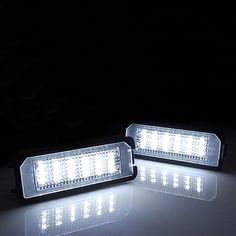 12.73$  Buy here - http://aliup2.shopchina.info/go.php?t=32760503001 - 2PCS Error Free LED License Plate Light Lamp For VW GOLF MK4 MK5 MK6 PASSET B6 EOS  #magazineonlinebeautiful