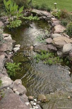 Gorgeous Backyard Ponds and Water Garden Ideas 57