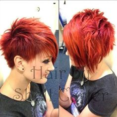 Asymmetrisch rood