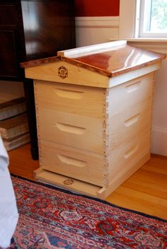 making a english copper top beehive | Putting Together My First Bee Hive | tIDbits