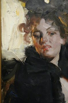 Anders L. Zorn He is reported to have preferred painting from very fair-skinned, red head models. The wonderful colour and form shows how well he could.