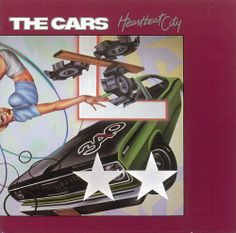 The Cars released 'Heartbeat City' today in #1984. #TheCars #rock #eighties #80s #remember #albumcover #Spinogle