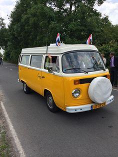 Yellow Volkswagen T2 Van