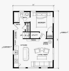 Mother In Law Suite Home Plans besides 26880929002012983 in addition 41095415329020062 together with Cabin Plans moreover 398639004489243774. on 1 bedroom house plans 24x24