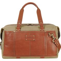 811afffccffb Tommy Bahama Casual Canvas   Leather 20 Inch Duffle  TommyBahama   TommyBahamaLuggage  luggage