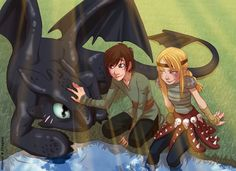 I love Dragons by *Moemai on deviantART