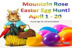 Mountain Rose Easter Egg Hunt