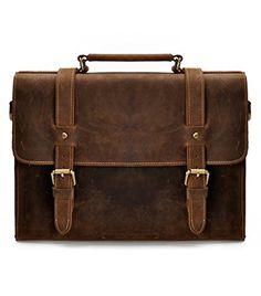 ZLYC Men's Vintage Retro HANDMADE Leather Briefcase 12 inch Laptop Bag Leather Messenger Bag Satchel Shoulder Bag (Brown) ZLYC http://www.amazon.co.uk/dp/B00PAIG0C4/ref=cm_sw_r_pi_dp_SABBub06ZGM0C #leatherbag #handmadeleatherbag #briefcase #shoulderbag #laptopbag #brownbag #messengerbag