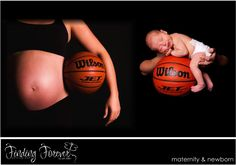 Must do basketball newborn pics with Sergio