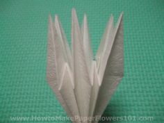 how to make origami lily step by step