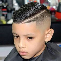 35 Cool Haircuts For Boys Guide) 17 Trendy Kids Hairstyles You Have to Try-Out on Your Kids Hard Part Haircut, Boys Fade Haircut, Boys Haircut Styles, Boy Haircuts Short, Cool Boys Haircuts, Toddler Haircuts, Taper Fade Haircut, Tapered Haircut, Haircuts For Men